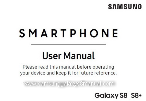 Samsung Galaxy S8 Manual Sprint