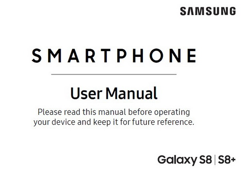 Samsung Galaxy S8 Manual T-Mobile
